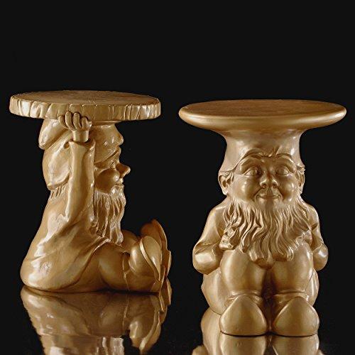Kartell 883295 Gartenzwerg-Hocker Gnome Napoleon, gold - 5