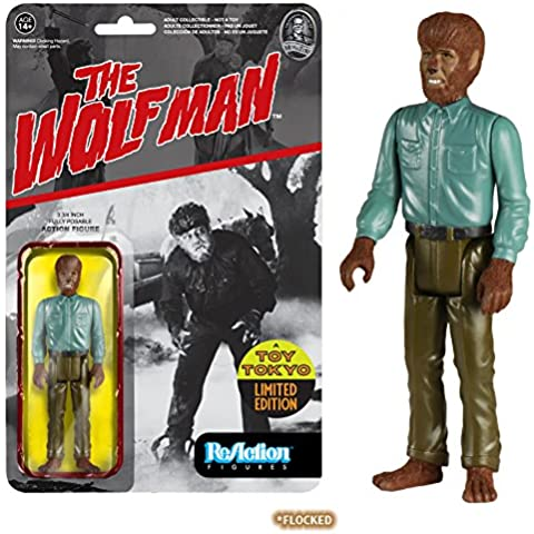Universal Monsters ReAction Action Figure The Wolf Man (Flocked) SDCC 2015 8 cm Funko Figures