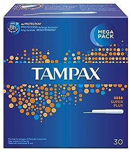 EVAX Tampax Super-Plus Tampon 30 UDS