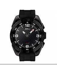 Smartwatch GPS Uhr Schlafüberwachung smartwatch,24 Stunden Pulsmesser,Vollfarb Display,Anrufe tätigen oder empfangen,sesshaft erinnern Sport uhr für Outdoor Running Walking