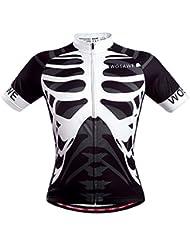 Cool Summer crâne de cyclisme en jersey pour homme pour homme pour vélo de course de vêtements de sport squelette Fashion brethable Dri Fit