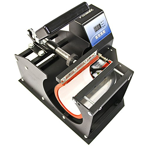 Best Price PixMax Sublimation Mug Press Machine, Black, 22cm x 12cm x 38cm Discount