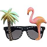 Party Brille -LATH.PIN Karneval Fasching Hawaii Geniale Dekobrille Lustige Partybrille Sonnenbrille