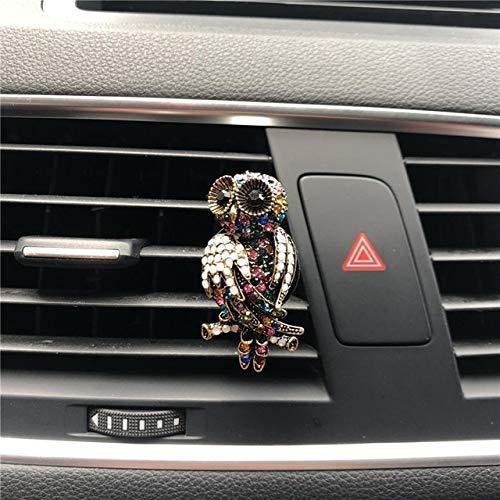 FASHLADY Nuovo Gioiello dell'Acqua di Modo Gufo Auto Profumo Interni Decorazioni Deodorante Air s Auto Profumo-Styling Profumi: D