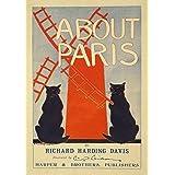Vintage Poster About Paris
