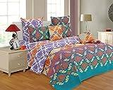 Salona Bichona 100% Cotton Double Bedshe...