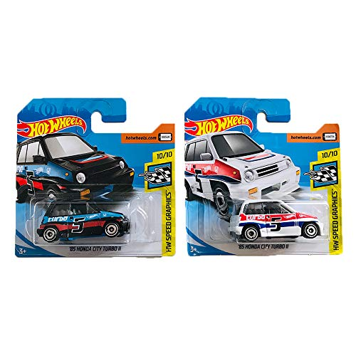 Hot Wheels '85 Honda City Turbo II HW Speed Graphics Pack 2