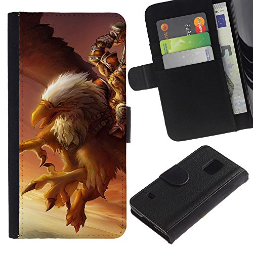for-samsung-galaxy-s5-v-sm-g900s-type-eagle-pc-game-mystery-gamer-giant-bird-dibujo-pu-billetera-de-