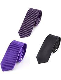 DonDon Herren Krawatten Set 3 Stück