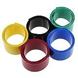 KEESIN 29.5mm flache PVC-Schrumpfschlauch-Batterie-Verpackungs-2m für 18650 Batterie (5P)