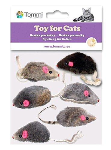 Katzenspielzeug Maus Katzen Spielzeug Spielmaus Mäuse 6 St�...