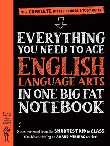 Everything You Need to Ace English Language Arts in One Big Fat Notebook: The Complete Middle School Study Guide (Big Fat Notebooks) por Workman Publishing