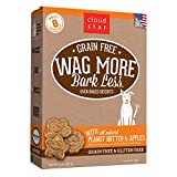 Cloud Star Wag More Oven Baked Grain Free Biscuits - 14 ounce Peanut Butter, Apples