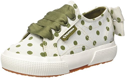 Superga 2750-Grossgrainflockedotsj, Baskets Fille