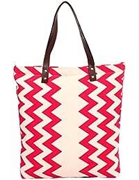 Pick Pocket Girls Tote Bag (Red) (TOREZIG119)