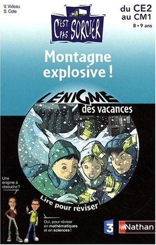 ENIGME VAC CE2 AU CM1 MONTAGNE