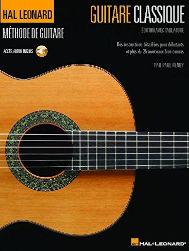 Guitare classique - Édition avec tablature par  Paul Henry
