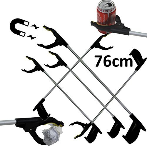 5 x magnétique Litière Grabber 76 cm en aluminium