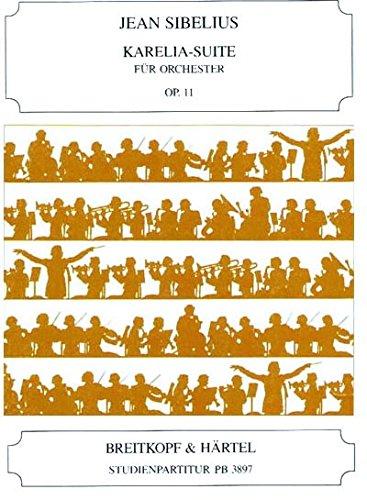 Karelia-Suite Op. 11 Orchestre