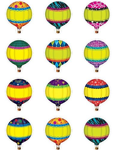 Teacher Created RESOURCES Hot Air Luftballons Mini Akzente (5296)