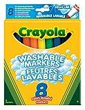 Crayola 03.8328DM - 8 Einfach Auswaschbare Filzstifte