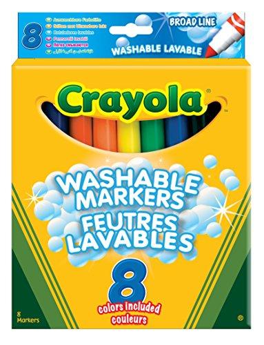 Crayola 03.8328DM - 8 Einfach Auswaschbare