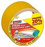 Tesa 561400000000 Double Face Fort 25mx50mm Dont 20% Gratuits Orange
