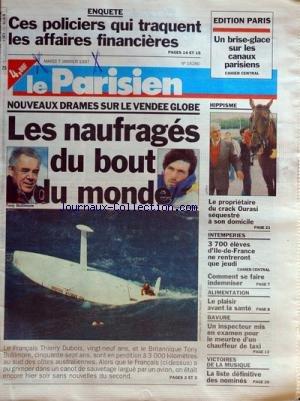 Inspecteur La Bavure - PARISIEN [No 16280] du 07/01/1997 - nouveaux