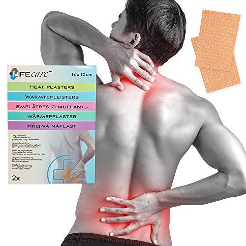 Wärme-pflaster Rücken- Nacken- Schmerzen -Verspannung 18x12cm Capsicum & Menthol (2)