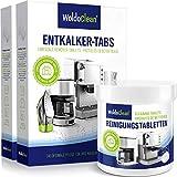 Pflegeset 40x Entkalkungstabletten & 260x Reinigungstabletten für Kaffeevollautomaten Kaffeemaschine - kompatibel mit sämtlichen Maschinen