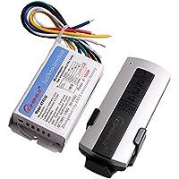 110V Blanc numérique sans fil commutateur de commande à distance lampe et lumière 4canal on/off