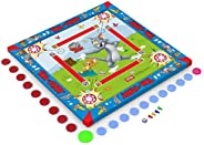 Zitto Tom and Jerry Kids Carrom Board (20x20 inch, Multi Color)
