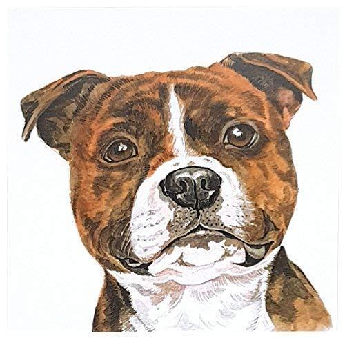 pit-bull chien carte de voeux waggydogz Anniversaire Noël mères fête des pères