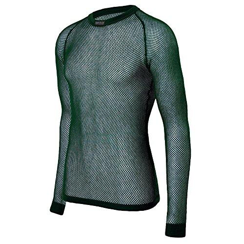 Brynje Shirt oliv Größe M - Brynje Unterwäsche