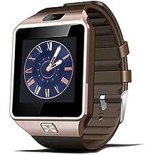 Kivors Bluetooth Reloj Inteligente DZ09, Smartwatch Teléfono Inteligente Pulsera con Cámara Pantalla Táctil Compatible con Tarjeta SIM / TF para iOS o Android Samsung HTC LG Huawei Sony Xiaomi