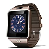 Kivors® Smartwatch Bluetooth DZ09 für Iphone IOS und Android Smartphone