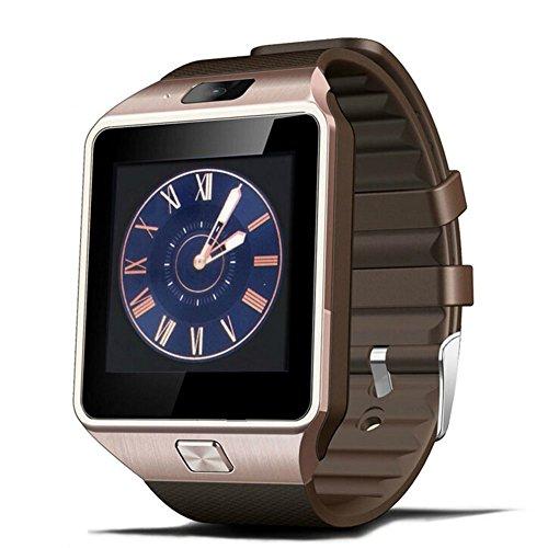 Kivors Smartwatch Bluetooth DZ09 für Iphone IOS und Android Smartphone