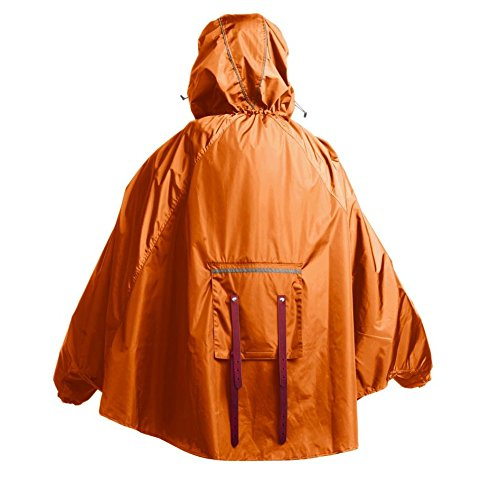 Brooks Erwachsene Regenpncho John Boultbee Cambridge Rain Cape Orange
