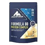 Multipower Formula 80 Protein Complex Vanille Geschmack 510 g