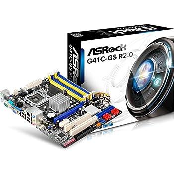 ASRock G41C-GS (G41/mATX) Carte mère Intel