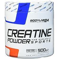 Bodylab24 Creatin Pulver, 100% Monohydrat Pulver, höchste Reinheit für Muskelwachstum, Premium Qualität, 500 Gramm Dose