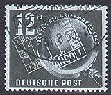Goldhahn DDR Nr. 245 gestempelt Tag der Briefmarke 1949 Briefmarken für Sammler