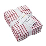 Best Kitchen Towels - Sensio Home Vintage Kitchen Tea Towels - Thick Review
