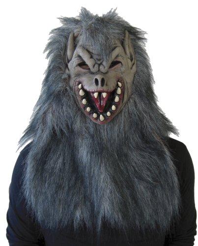 Maske Wolfman (Wolfman Maske Wolf Man-Maske 802746)