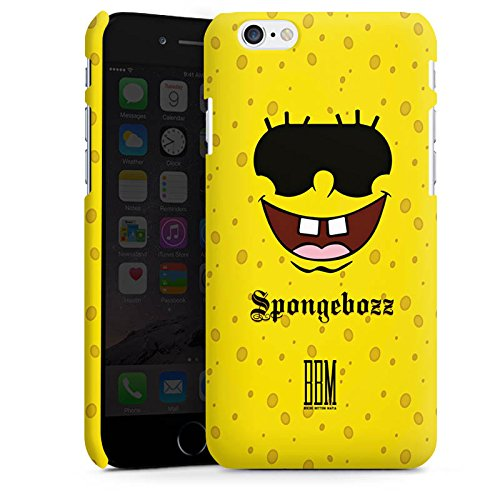 Apple iPhone X Silikon Hülle Case Schutzhülle Spongebozz BBM Fanartikel Merchandise Premium Case matt