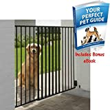 Solid Dog Barrier For Gardens And Patios With Special Weather Proof Coating - Provides A Simple And Effective Way To Keep Your Dog Safe - Also Suitable For Indoor Use By eCommerce Excellence