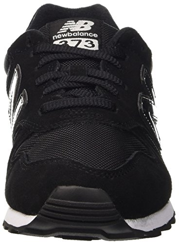 New Balance 373, Chaussures de Running Entrainement Homme Noir (Black 001)