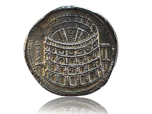 Colosseum Rom Eröffnungsmünze - Antike römische Münzen - Replikat - Forum Traiani - Römische Kolosseum Münze Sesterz