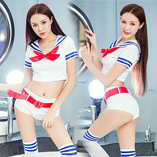 Roleeplay sexy Dessous, super sexy Uniformen, Cheerleadern, Seemann Anzüge, Sm Student Outfits, Leidenschaft Anzüge, ()