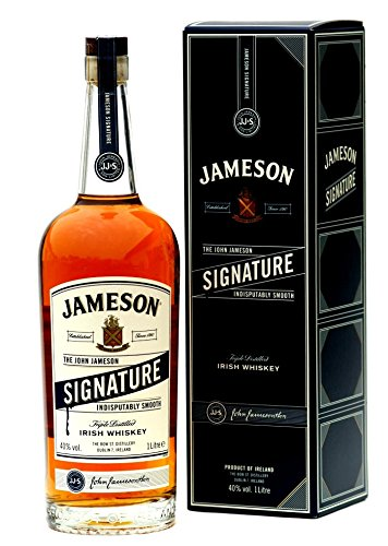Jameson Signature Reserve Irish Whiskey mit Geschenkverpackung (1 x 1 l) - in NEUER Verpackung - ein MustHave